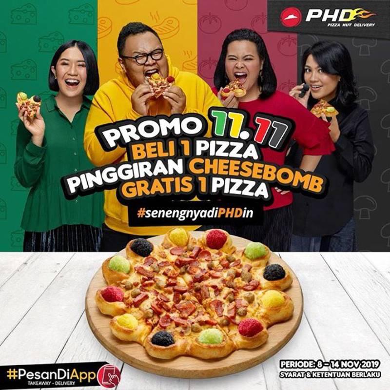 PHD Promo SPESIAL 11.11 – BELI 1 GRATIS 1
