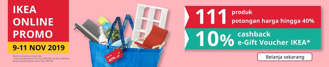 Diskon Ikea Online Promo 111 Harga Spesial + Potongan Harga hingga 40%