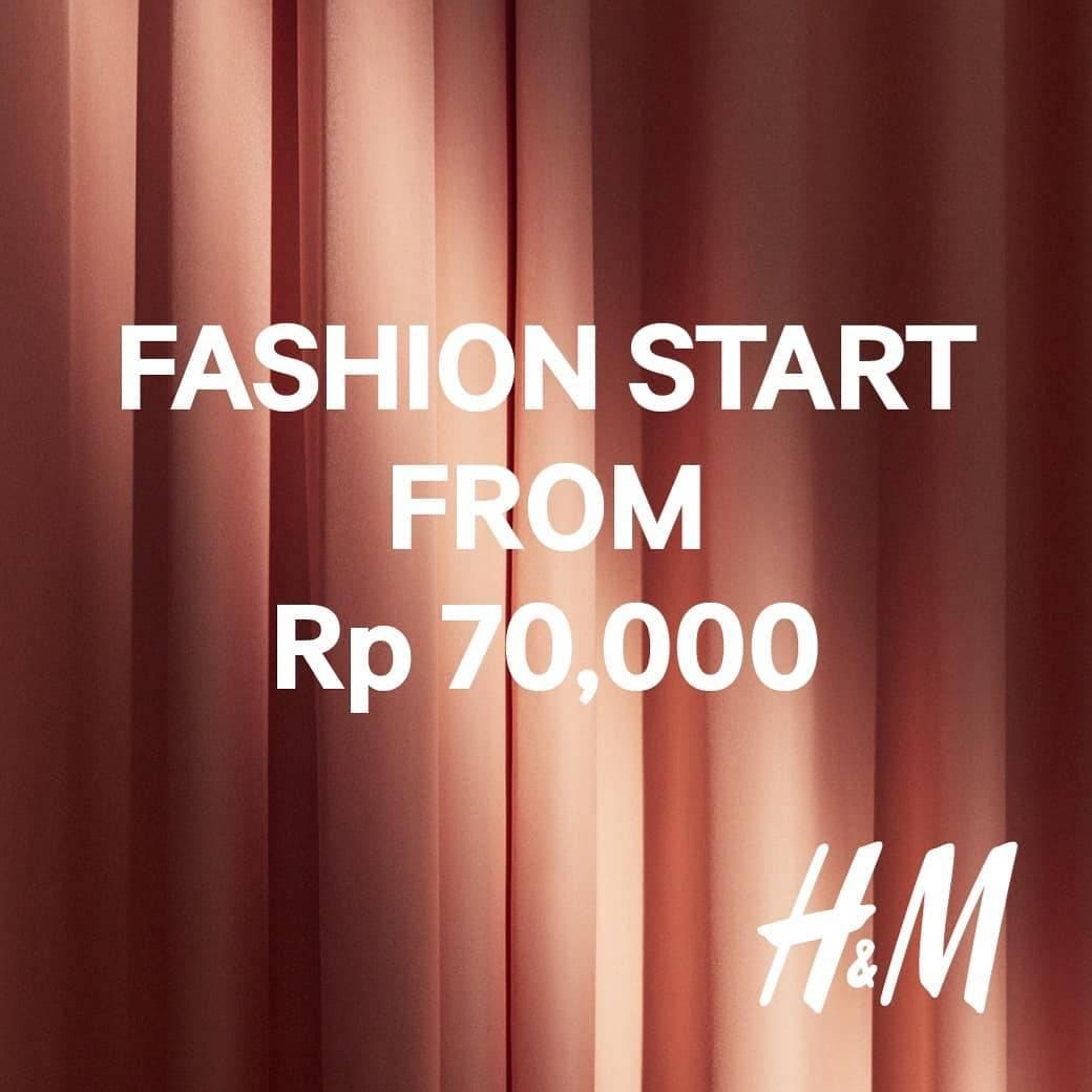 H&M Pre Black Friday Special Harga Spesial mulai Rp. 70.000