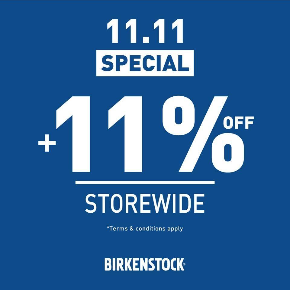 Birkenstock 11.11 special promo + 11% Off Discount