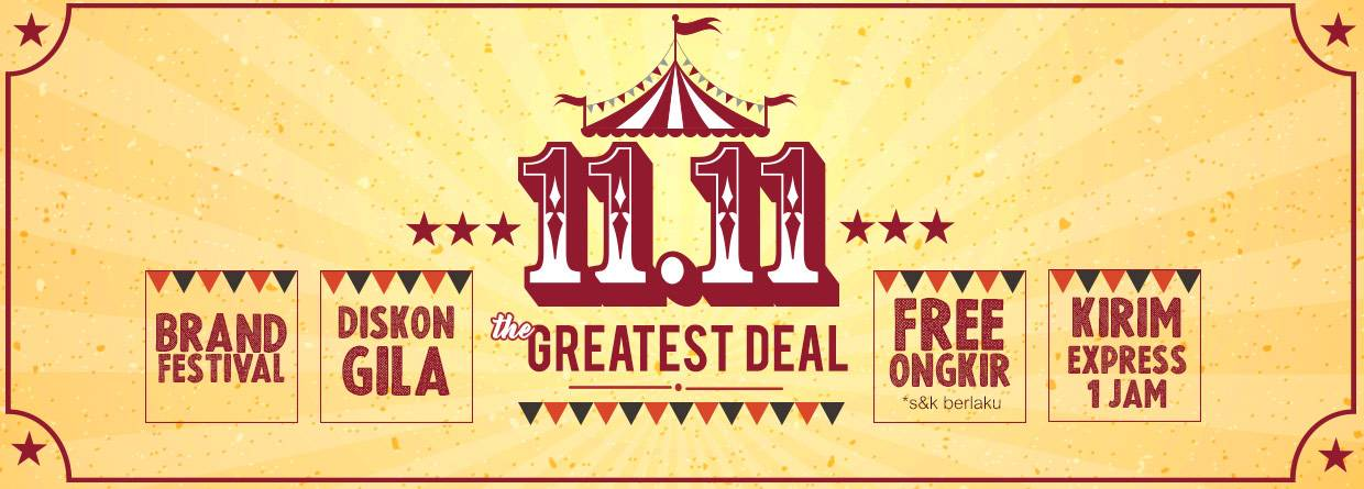 Indomaret The Greatest Deal ! Harbolnas 11.11 Cashback Pulsa, Token dan Diskon Belanja