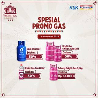 Promo diskon Indomaret The Greatest Deal ! Harbolnas 11.11 Cashback Pulsa, Token dan Diskon Belanja