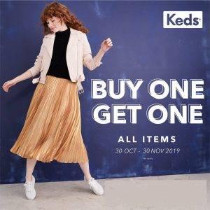 Keds Promo Buy 1 Get 1 Oktober - November 2019