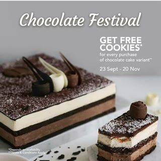 The Harvest Promo Chocolate Festival Gratis Cookies