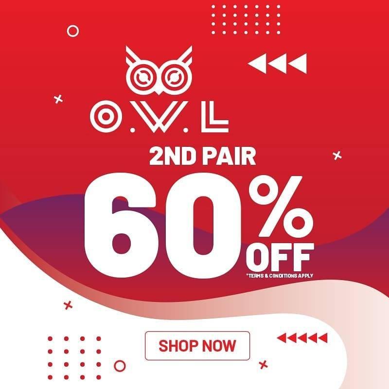 Owl Eyewear Promo Diskon 60% untuk pembelian ke Dua