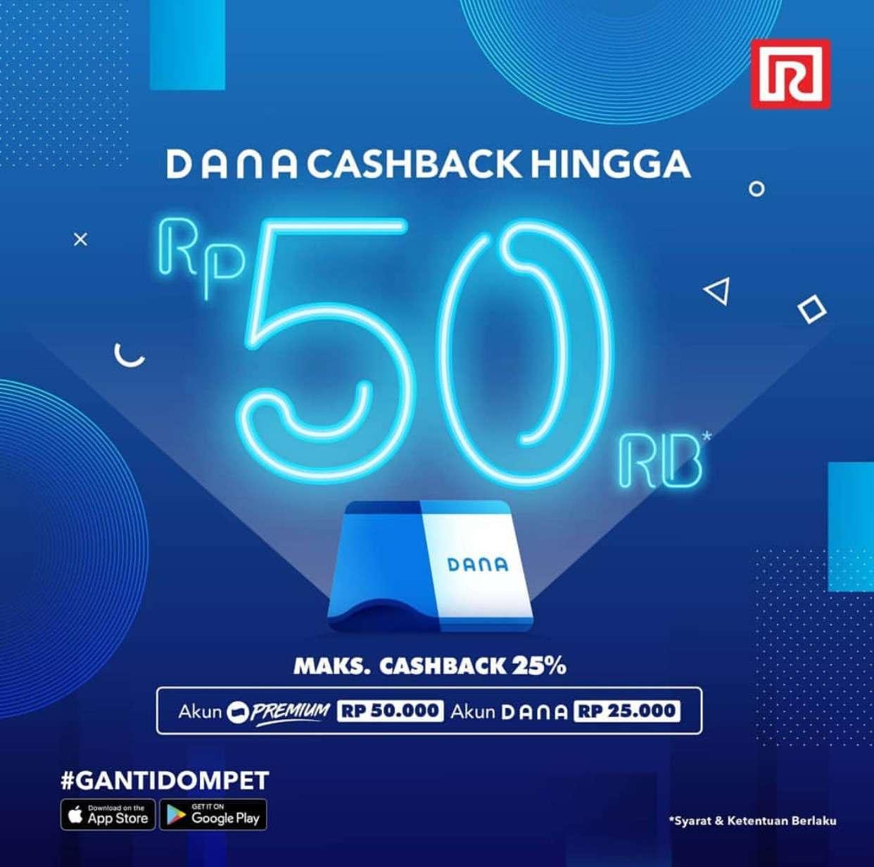 Diskon Ramayana Promo Cashback hingga Rp. 50.000 dengan Dana