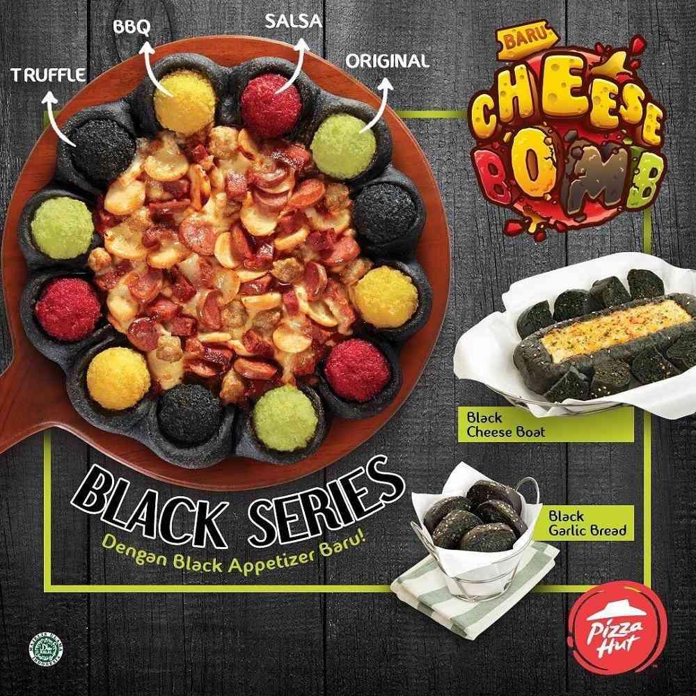 Pizza Hut Promo Menu Baru Pizza Hut - Black Series