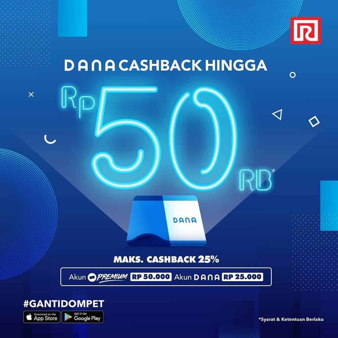 Ramayana Promo Cashback hingga Rp. 50.000 dengan DANA