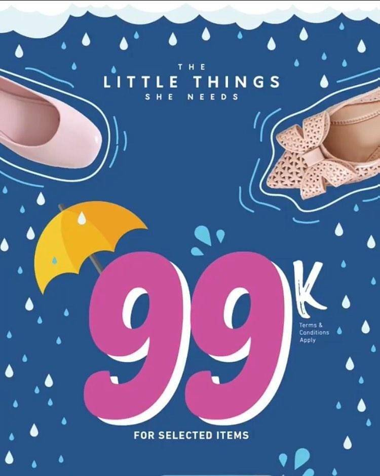 The Little Thing She Needs Promo Happy Price, Belanja Hemat Serba Rp. 99.000!