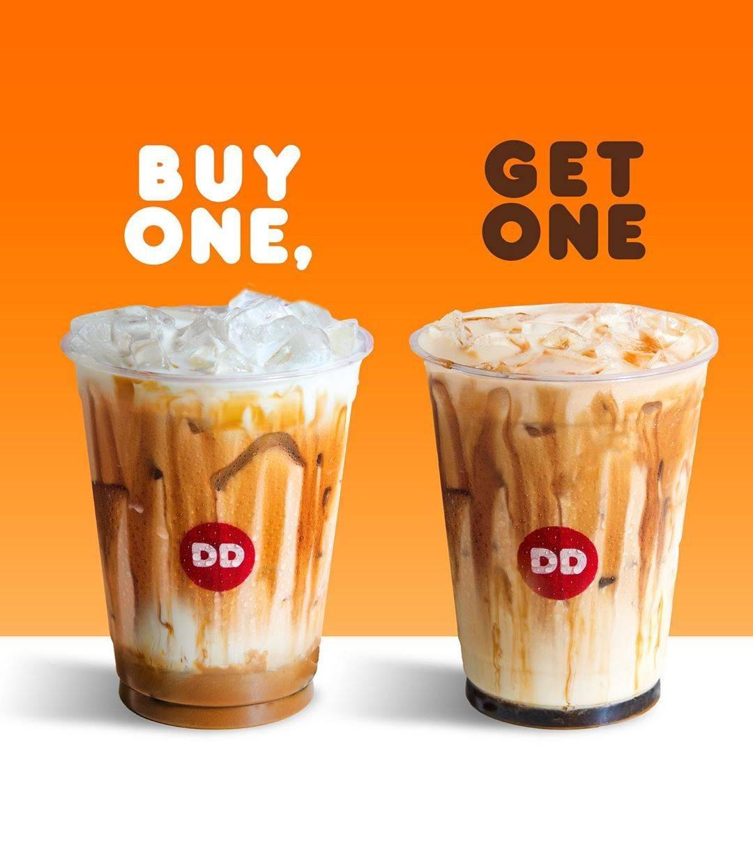 Dunkin Donuts Promo Beli 1 Gratis 1 untuk Minuman dengan Kartu BCA