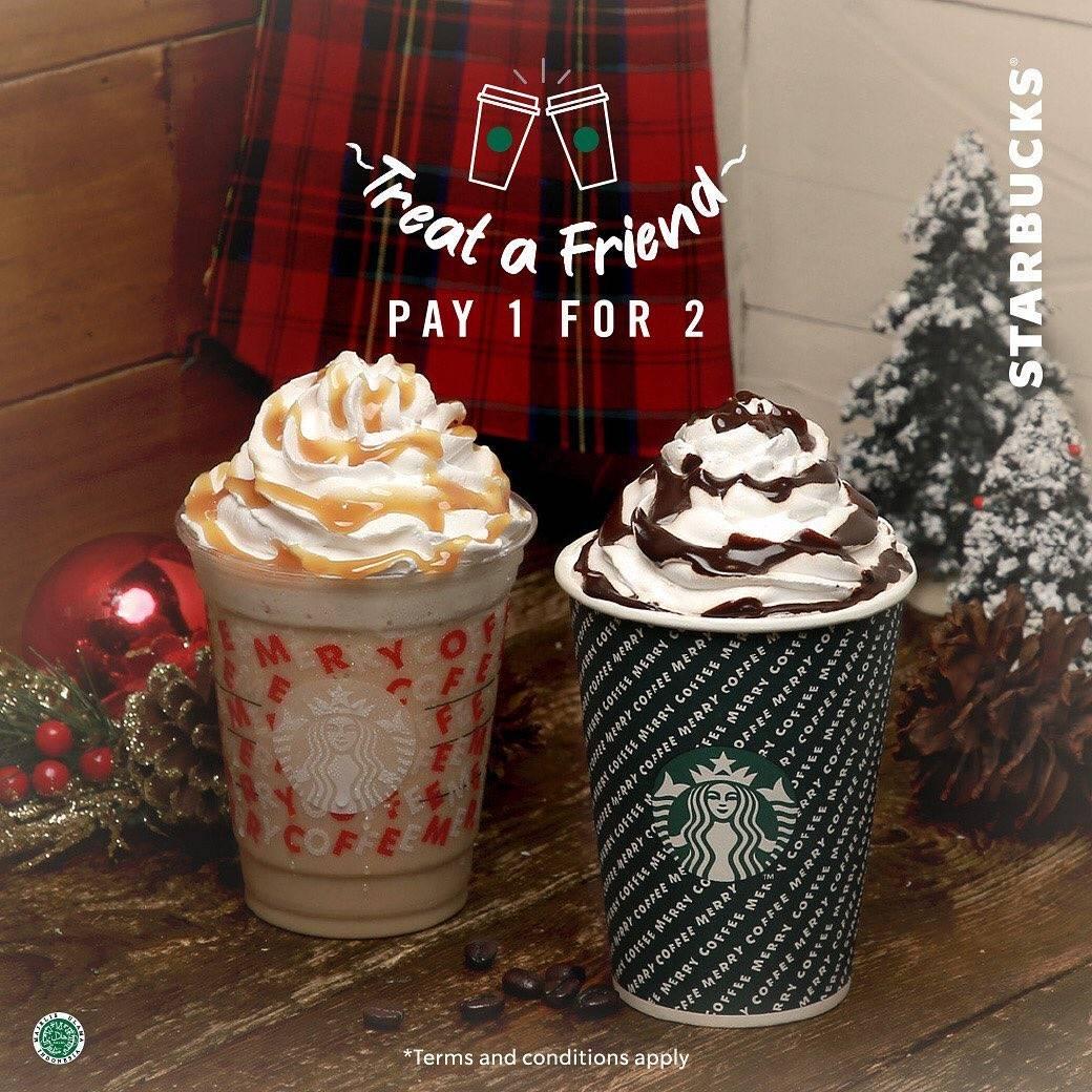 Starbucks Promo Beli 1 Gratis 1 untuk Minuman Apapun dengan Kupon LiINE