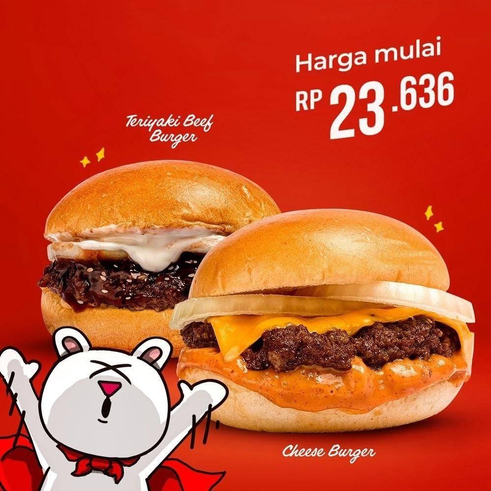 Flip Burger Promo Menu Prime Jr Harga mulai dari Rp23Ribuan