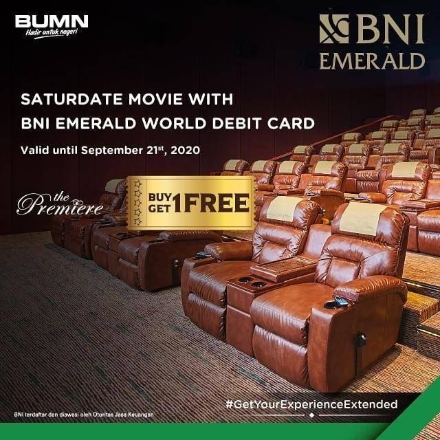 Cinema XXI Buy 1 Get 1 Free Tiket Nonton dengan Kartu Debit BNI