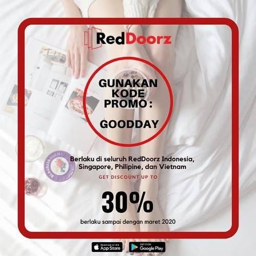 Reddoorz Promo Diskon 30%
