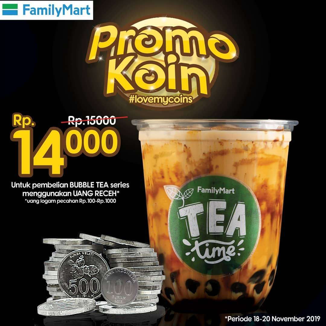 Family Mart Promo Koin Bubble Tea