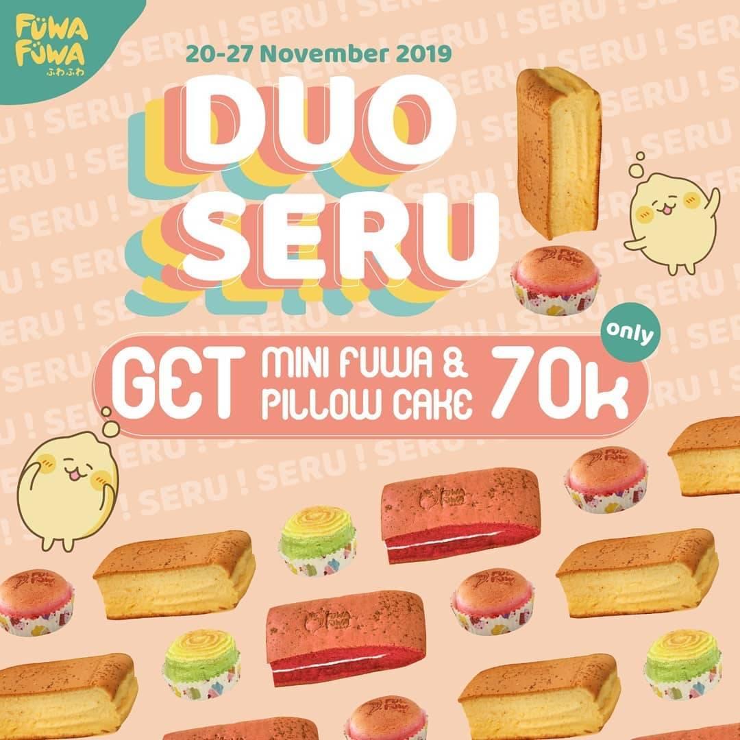 Fuwa Fuwa World Promo Duo Seru, Beli 2 Menu Pilihan Hanya Rp. 70.000!