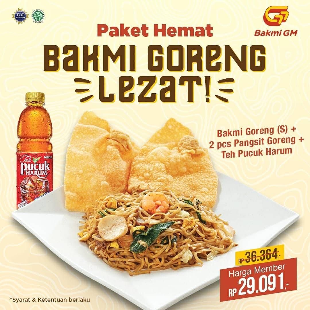Bakmi GM Promo Paket Hemat Bakmi Goreng untuk Member