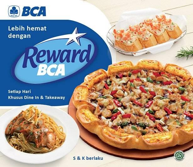 Pizza Hut Promo Hemat Setiap Hari Dengan Reward BCA!