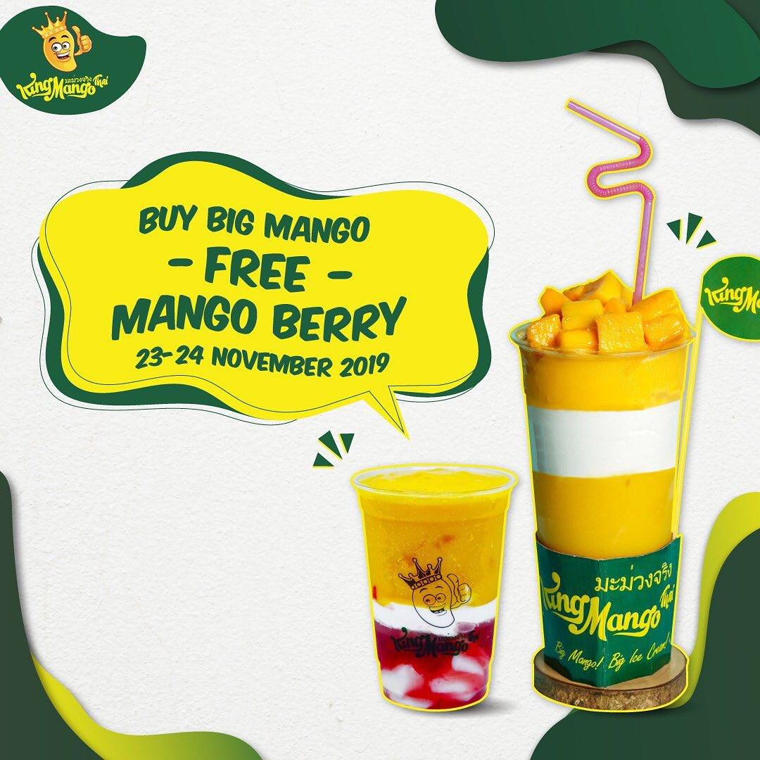King Mango Promo Buy Big Mango free Mango Berry