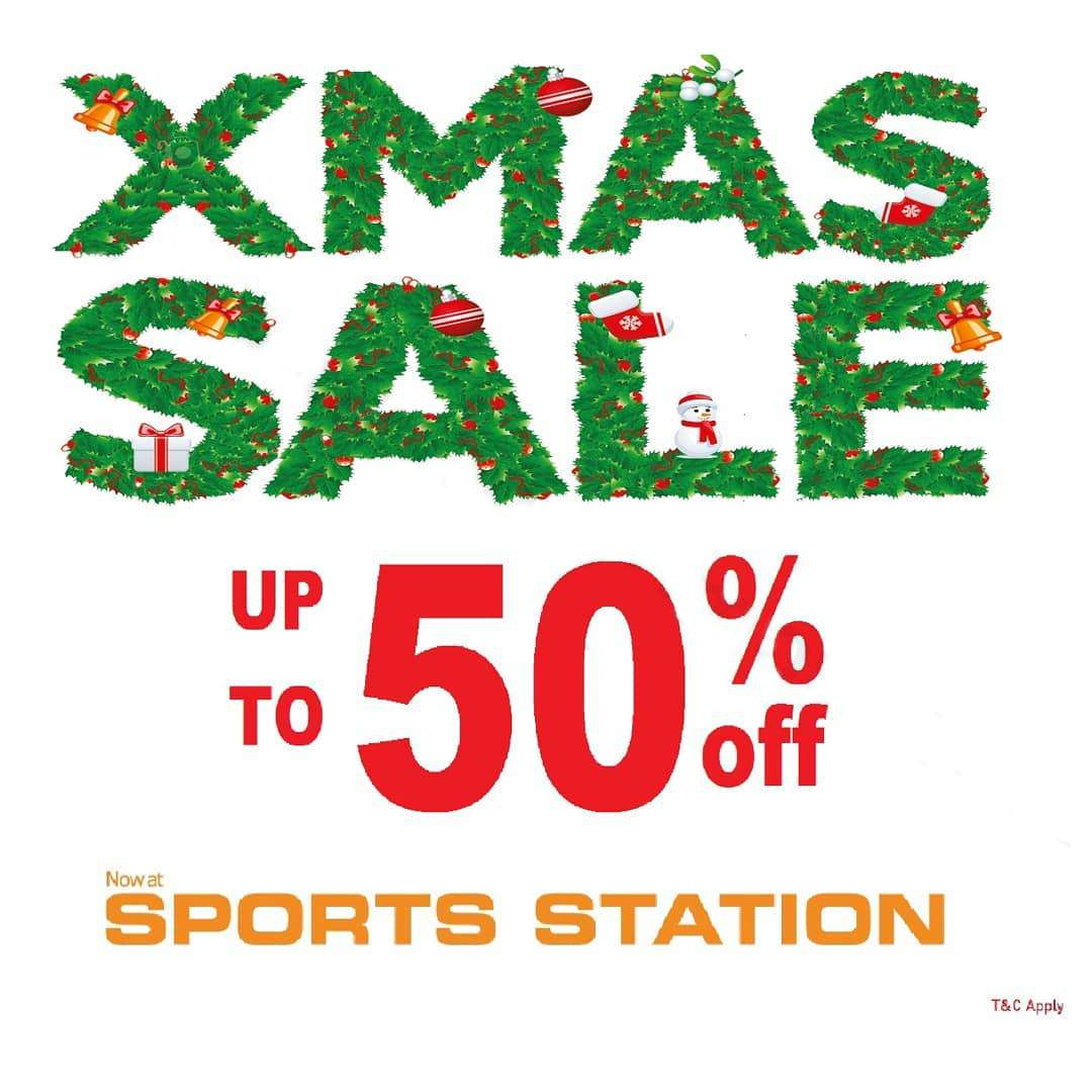 Sports Station Promo XMAS SALE Discount Up To 50% Off