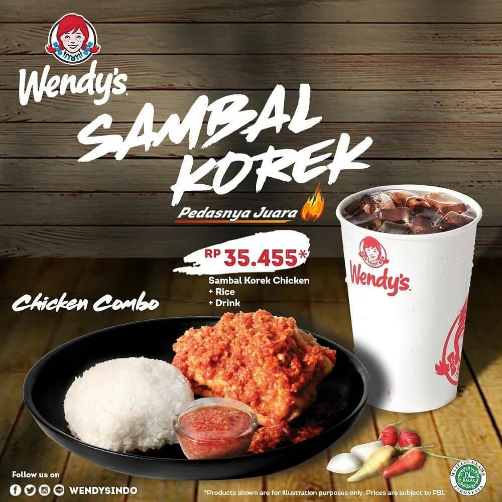 Wendys Promo Sambal Korek
