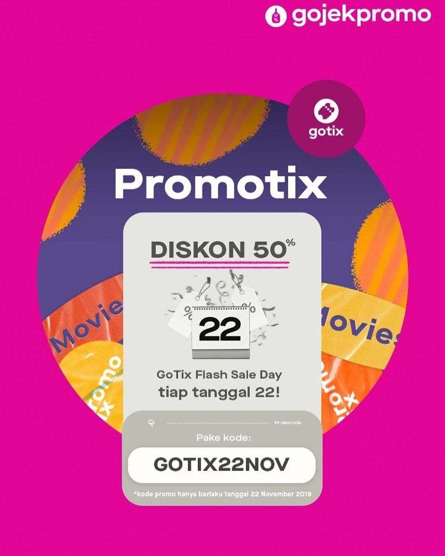 Gotix Flash Sale Diskon 50%