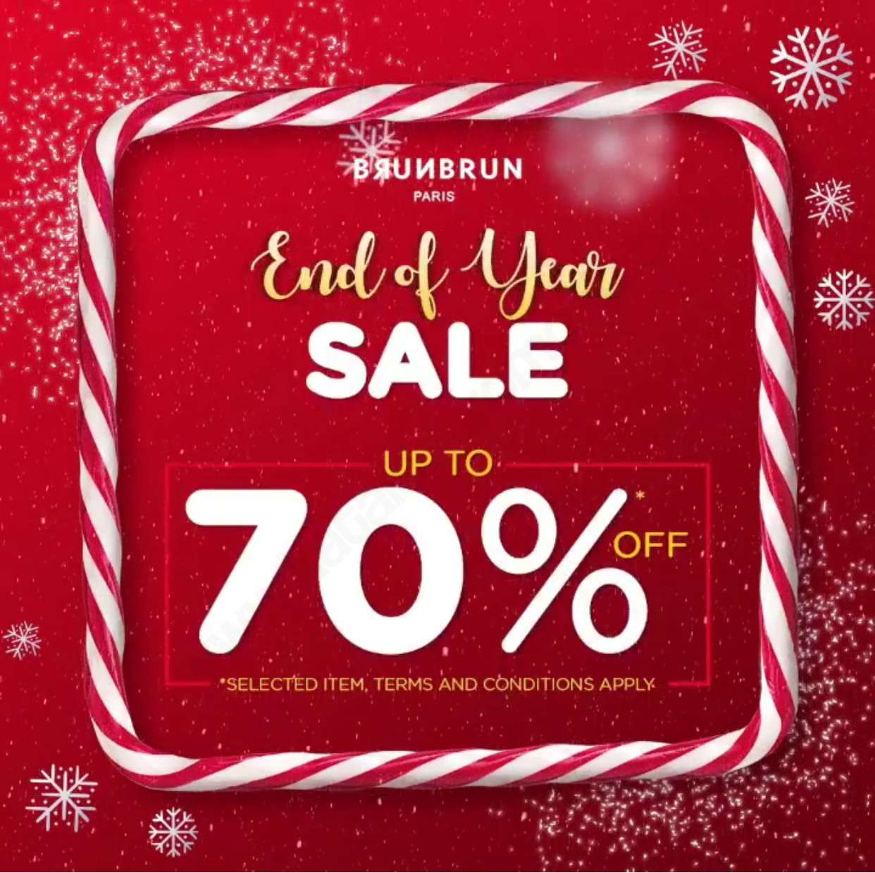 Brun Brun End of Year Sale up to 70% off