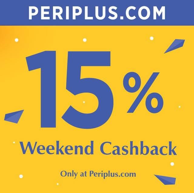 Periplus Promo Weekend Cashback 15%