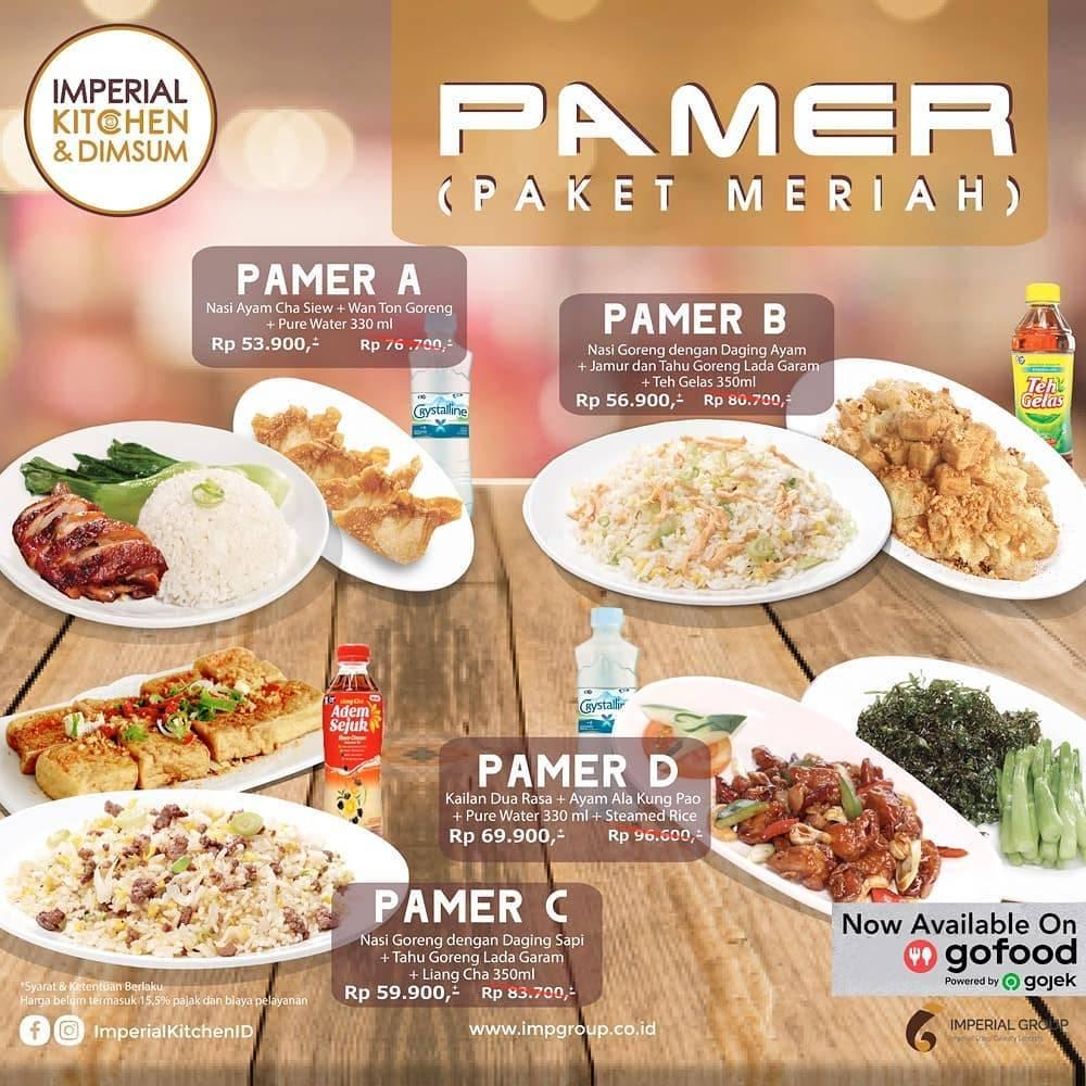Imperial Kitchen & Dimsum Makan Hemat Mulai Rp. 53 Ribuan Gofood