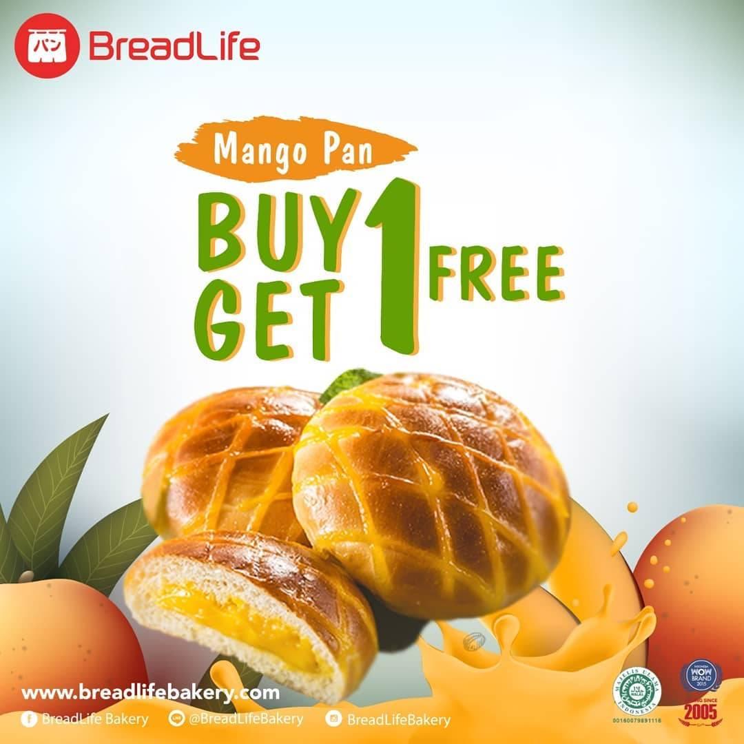 Diskon Breadlife Promo Beli 1 Gratis 1 untuk Mango Pan dengan Kuponn  LINE