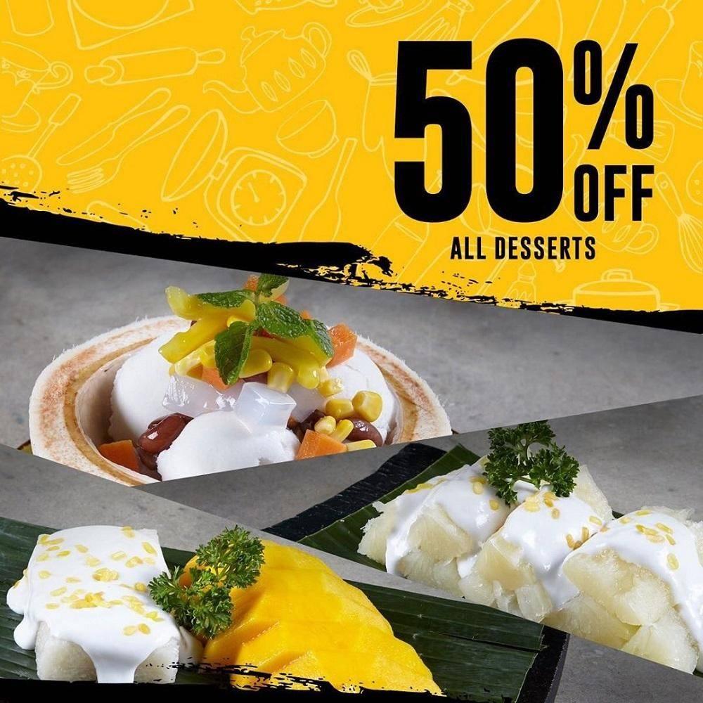 Thai Alley Promo Dessert Diskon 50% di Mall Kelapa Gading