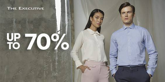 The Executive Promo Diskon Hingga 70% di Shopee