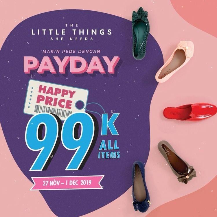 The Little Thing She Needs Promo PayDay Belanja Hemat Serba Rp. 99.000