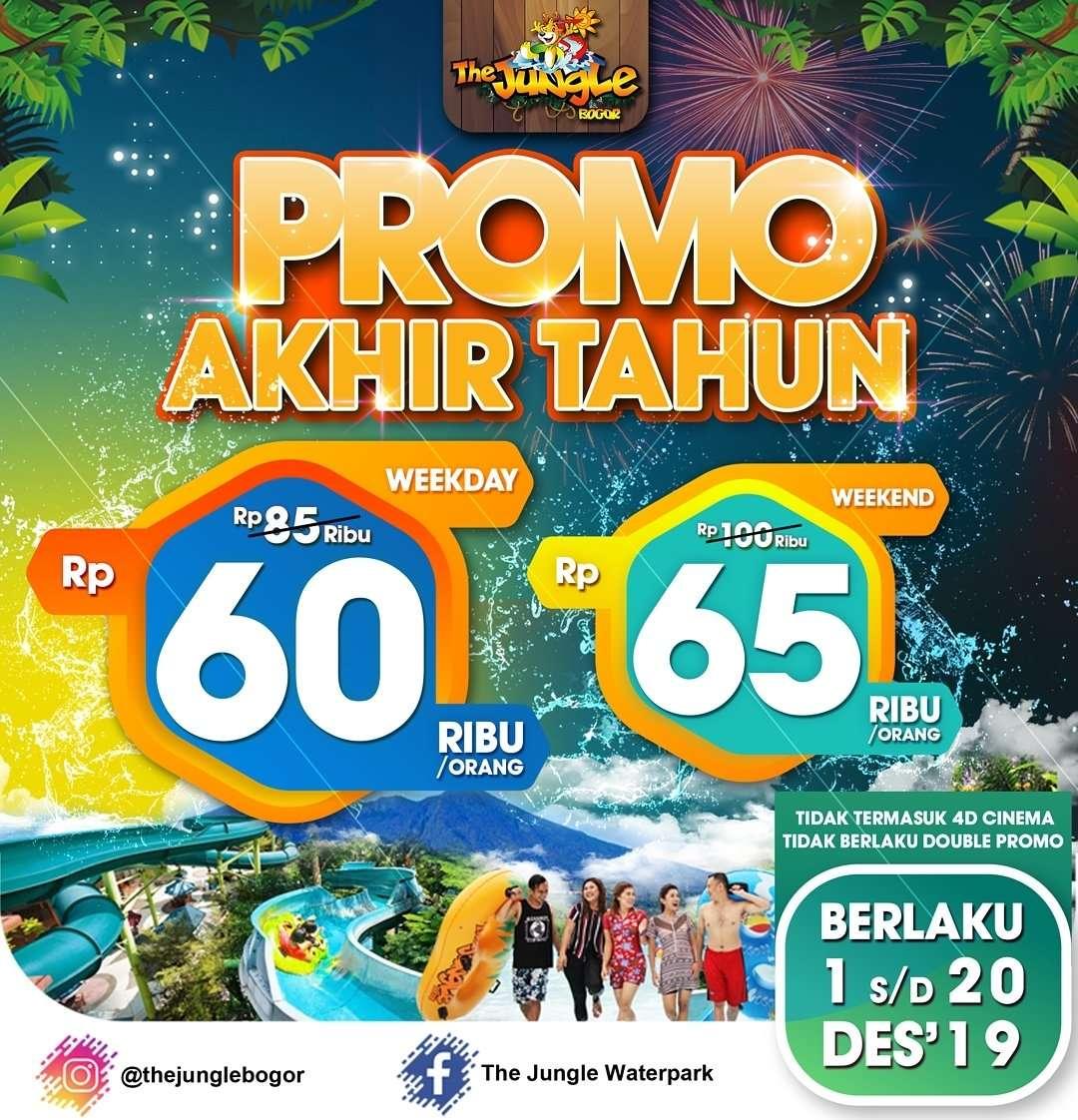 The Jungle Bogor Promo Akhir Tahun Tiket Masuk Mulai Dari Rp. 60.000