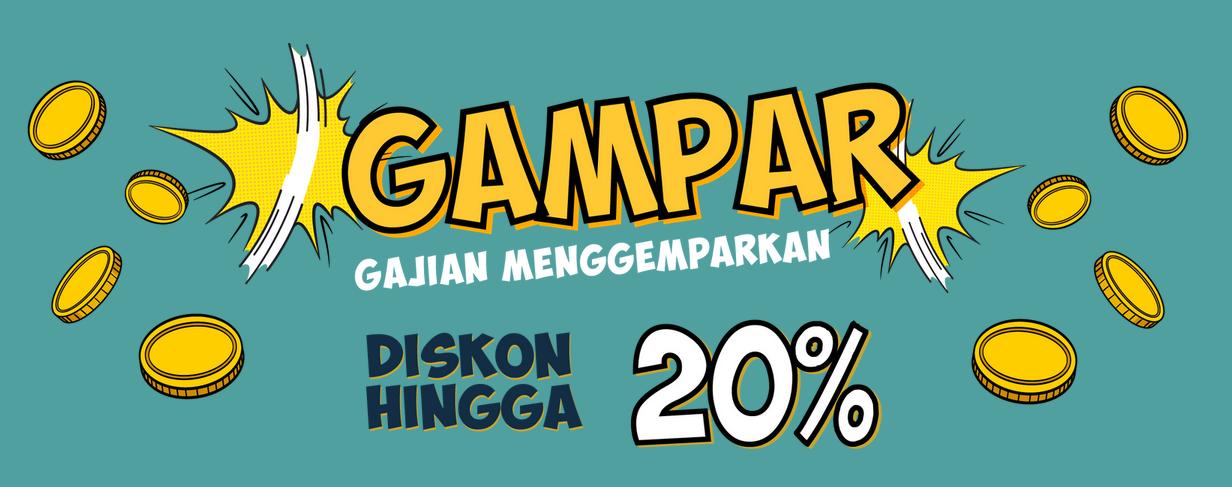 Gramedia Promo Gajian Menggemparkan Diskon Hingga 20%