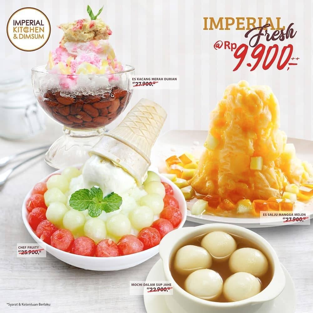 Imperial Kitchen & Dimsum Promo Dessert Pilihan Cuma Rp. 9 Ribuan