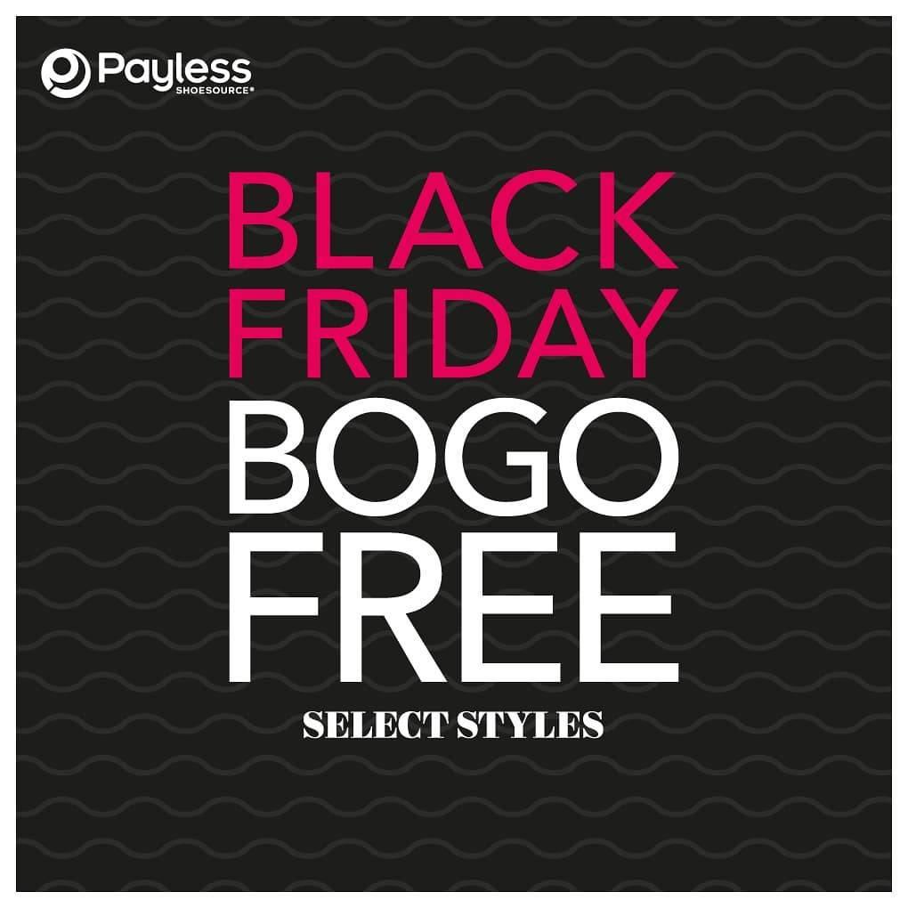 Payless Promo Black Friday Sale Beli 1 Gratis 1