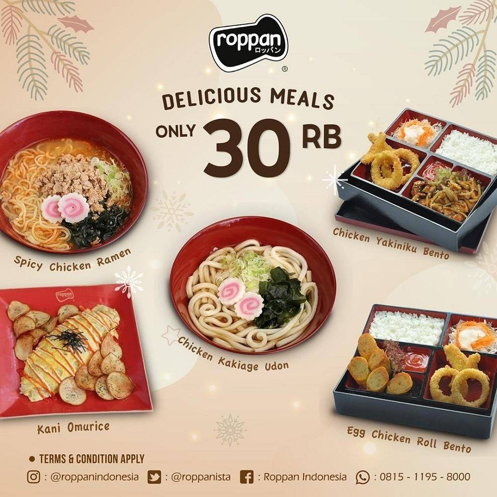 Roppan Promo Delicious Meals Hanya 30Rb an