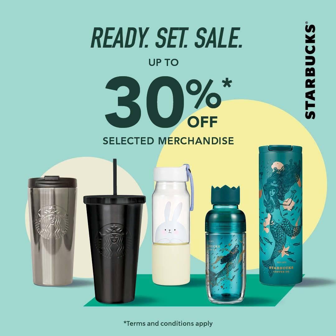 Starbucks Promo Diskon hingga 30% untuk Merchandise