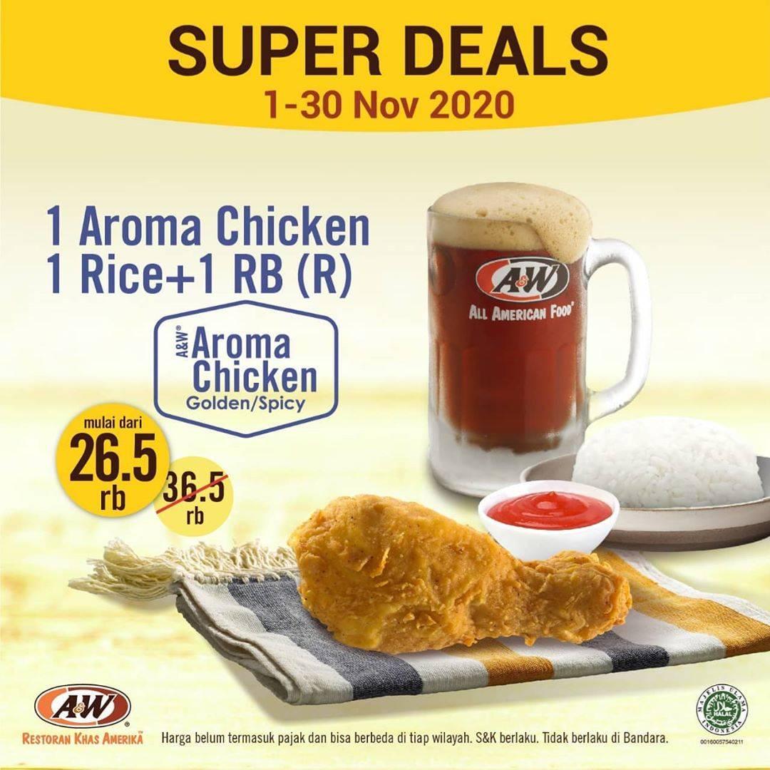 Diskon A&W Promo Super Deals