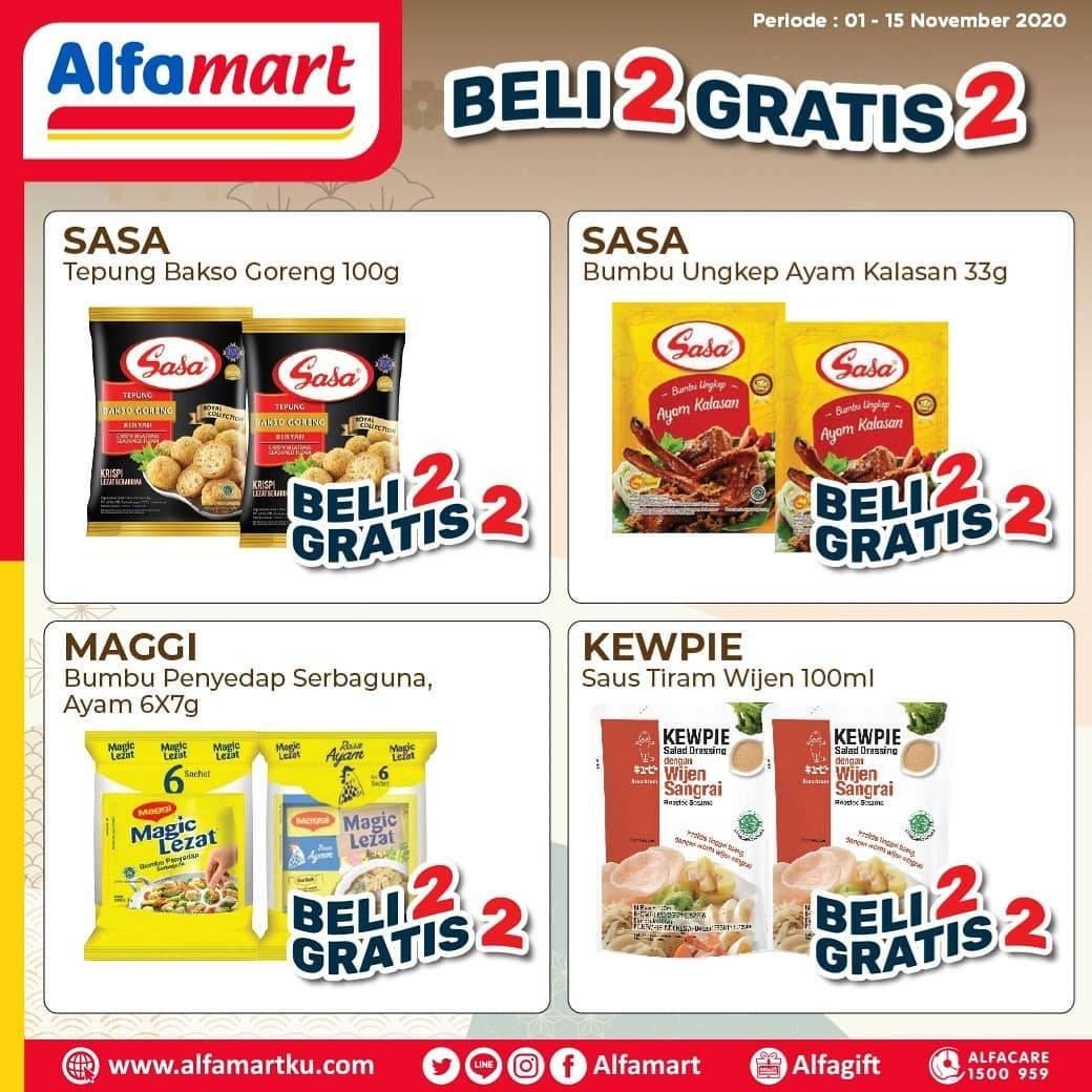 Katalog Promo Alfamart Beli 2 Gratis 2 Periode 1 15 November 2020 Disqonin