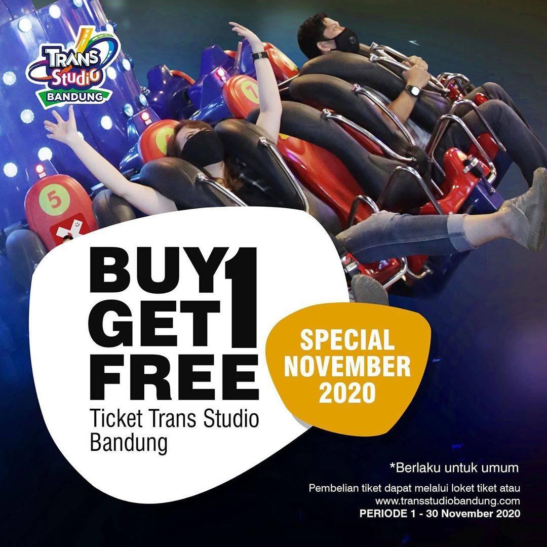 Diskon Trans Studio Bandung Promo Buy 1 Get 1 Free