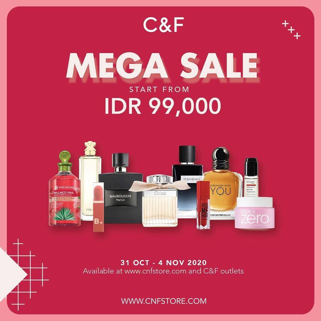 Diskon C&F Promo Mega Sale Start From IDR. 99.000