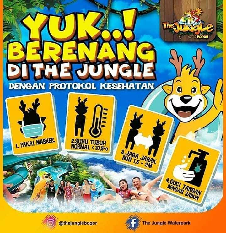 Promo diskon The Jungle Promo Hemat Berempat