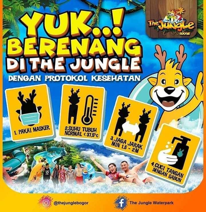 Promo diskon The Jungle Promo November