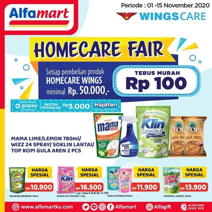 Promo Alfamart Homecare Fair Periode 1 15 November 2020 Disqonin