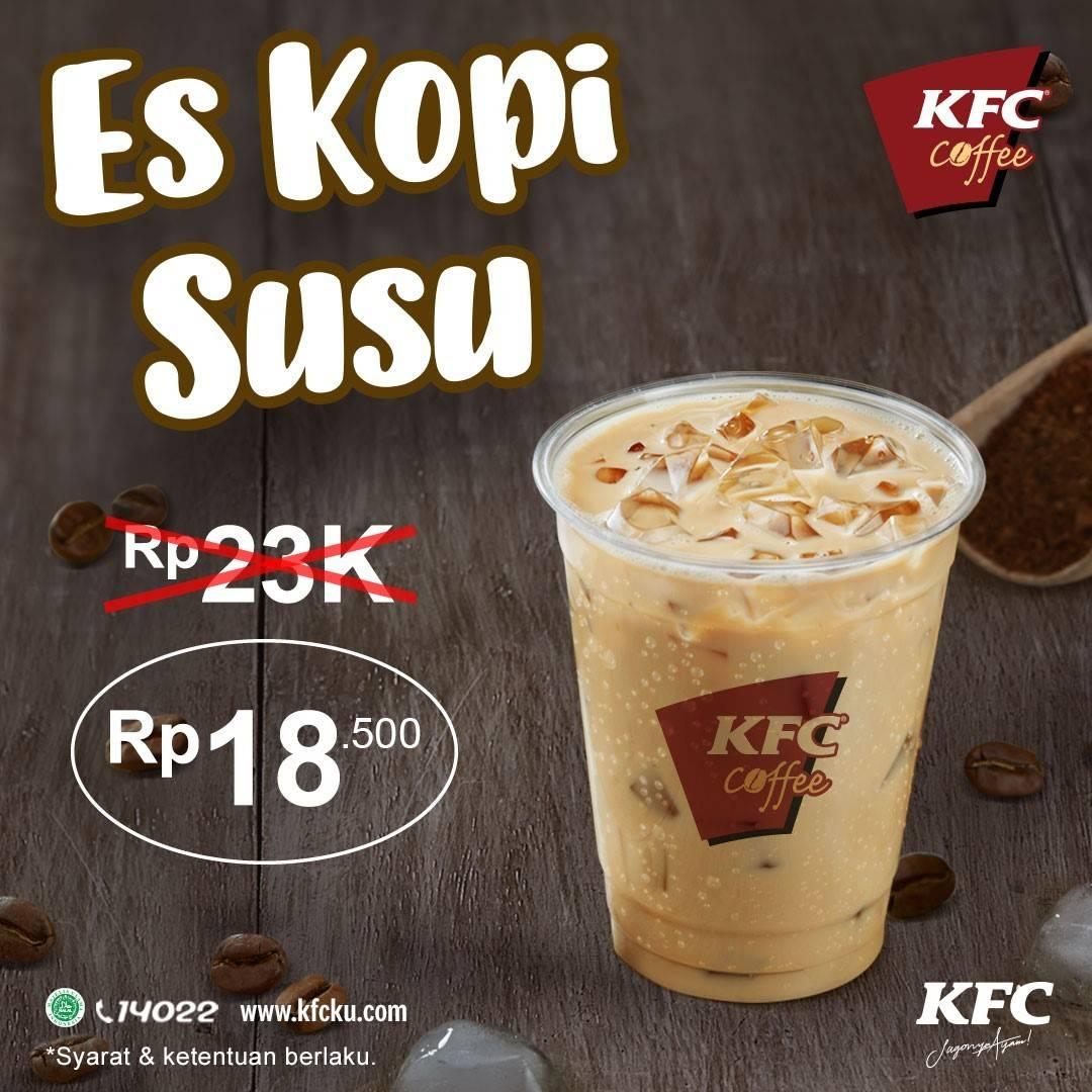 Diskon KFC Promo Es Kopi Hanya Rp. 18.500