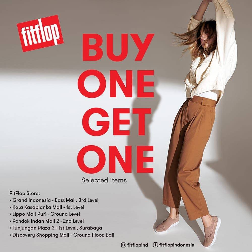 Diskon FitFlop Buy 1 Get 1 Free On Selected Items