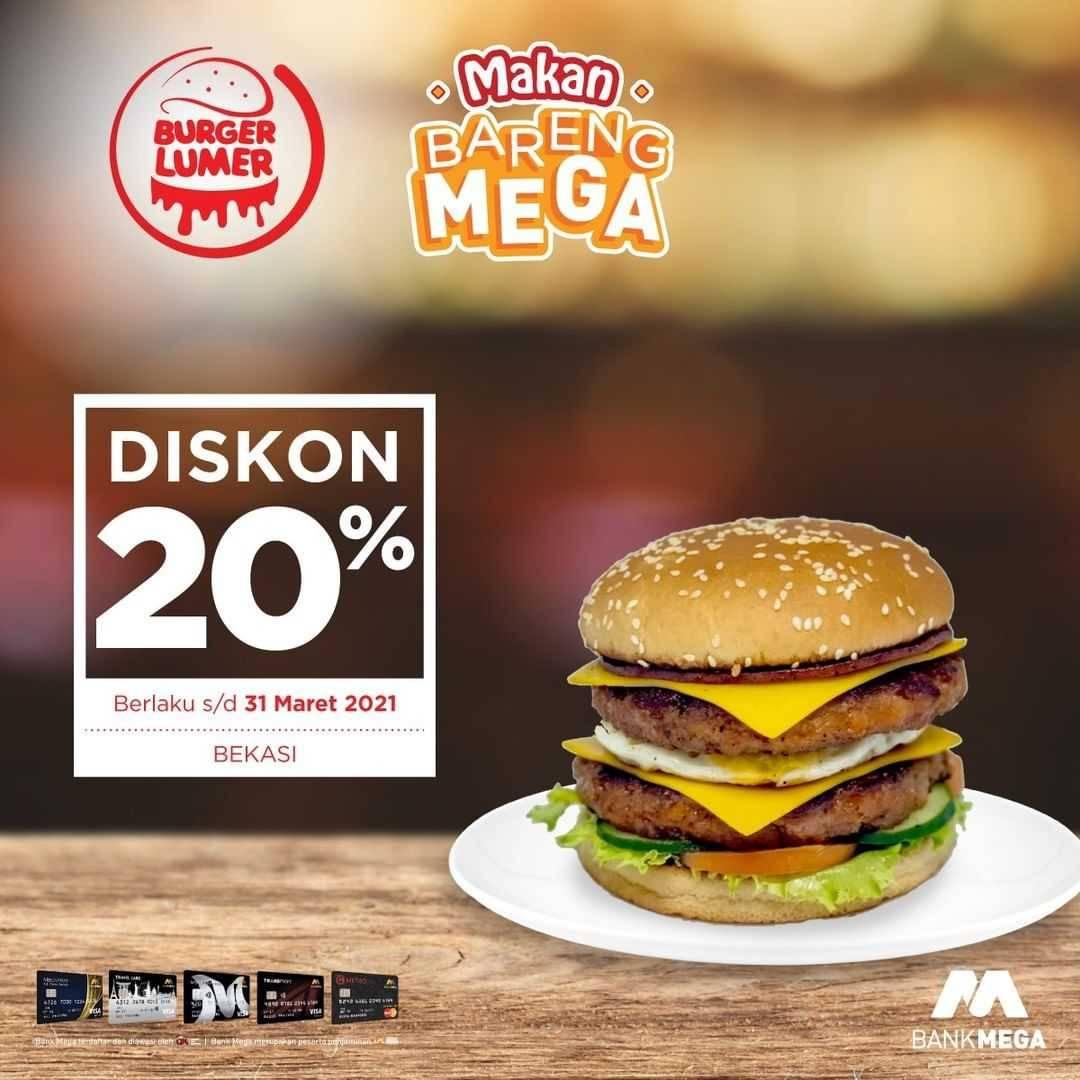 Wendys Promo Makan Bareng Bank Mega Disqonin