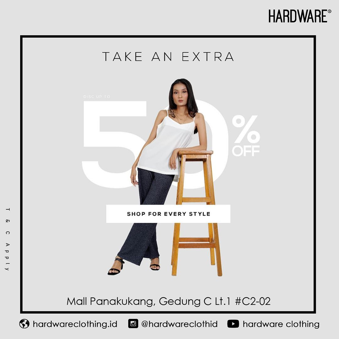 Diskon Hardware Mall Panakukang Discount Up To 50% Off